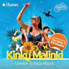 London To Ibiza album volume 1